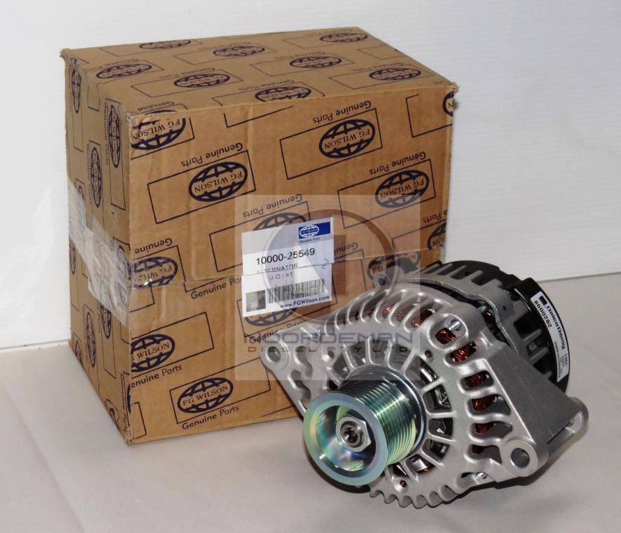 10000-04861 or 10000-25549 FG Wilson - Perkins Alternator OLYMPIAN CAT