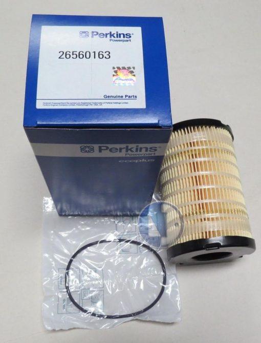 perkins fuel filter supercedes