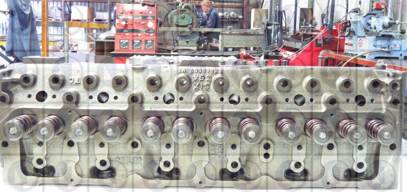 Perkins 354 cylinder head 2nd Hand reconditioned | Noordeman Diesel