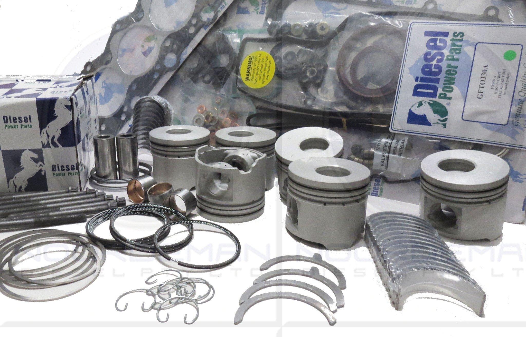 100 SERIES TOYOTA LANDCRUISER 1HDFTE ENGINE REBUILD KIT ERKTO1HDFTEXXX1