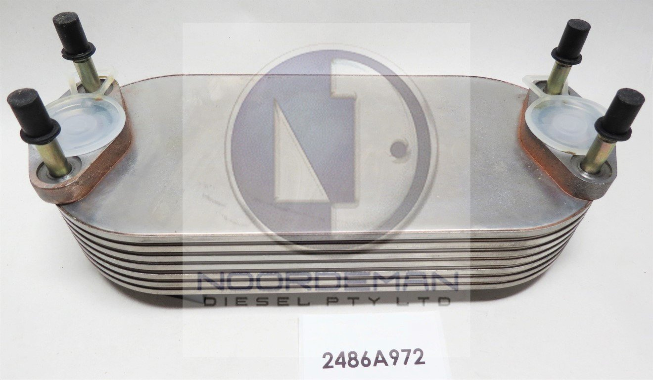 2486A972 Perkins Oil Cooler Phaser