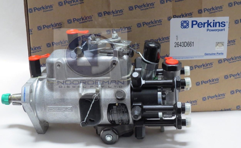 2643D661 Perkins Fuel Injection Pump