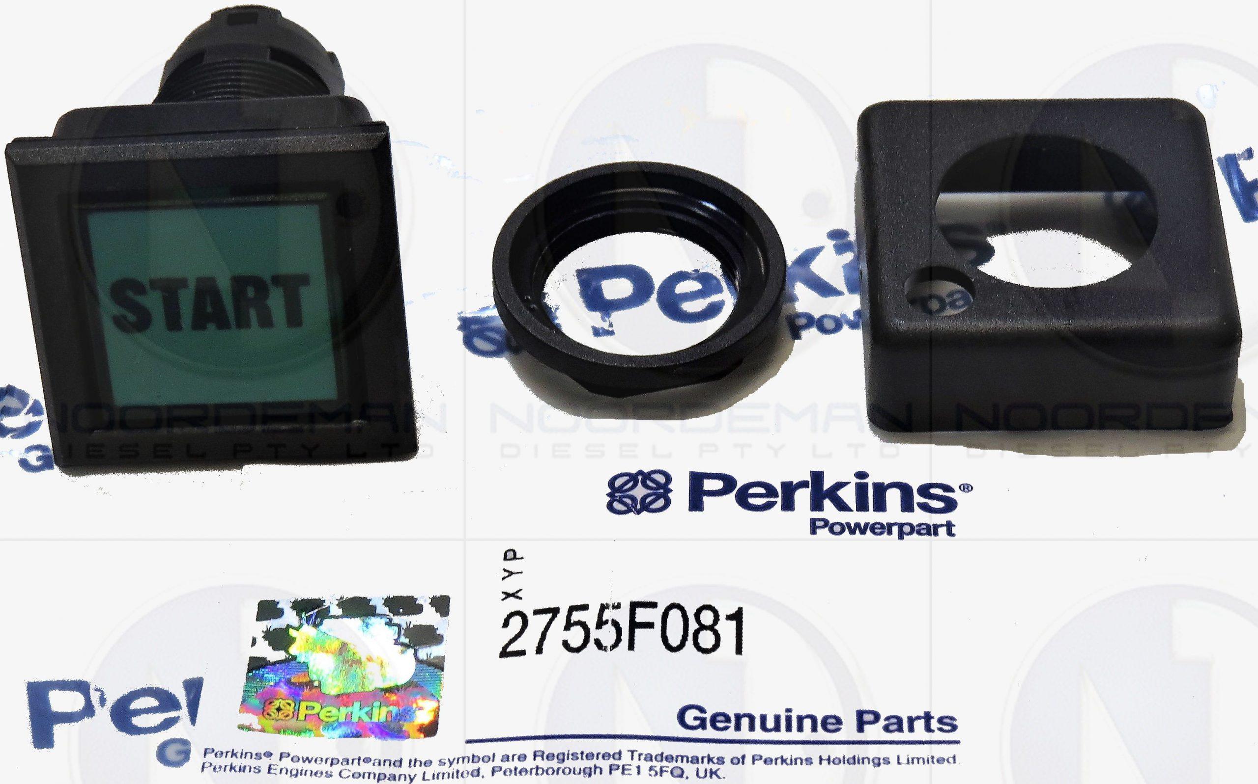 2755F081 Perkins Starter Button