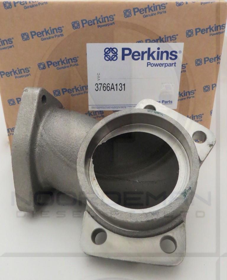 3766A131 Perkins Exhaust Elbow 1104 Series