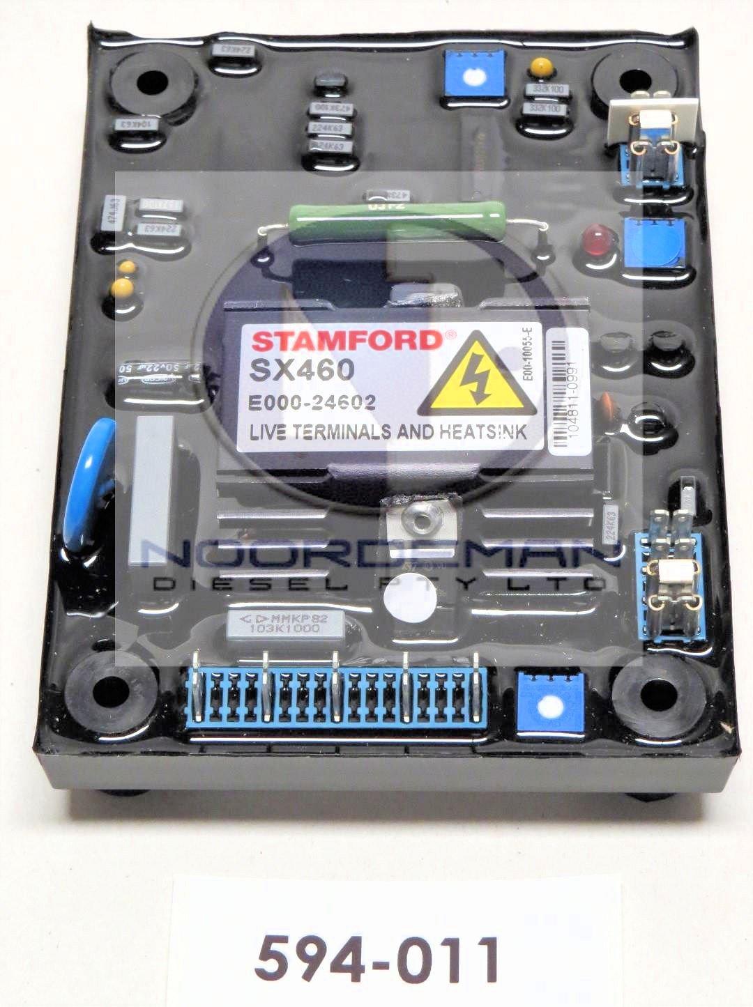 594-011 FG Wilson Voltage Regulator CAT Olympian