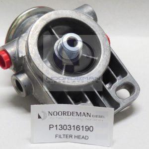 130316190 Perkins Oil Filter Head