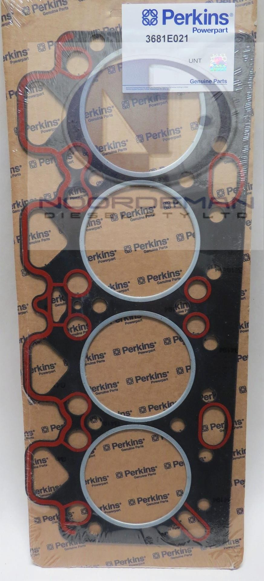 3681E021 Perkins 236 Head Gasket Suit Fire Ring Liner