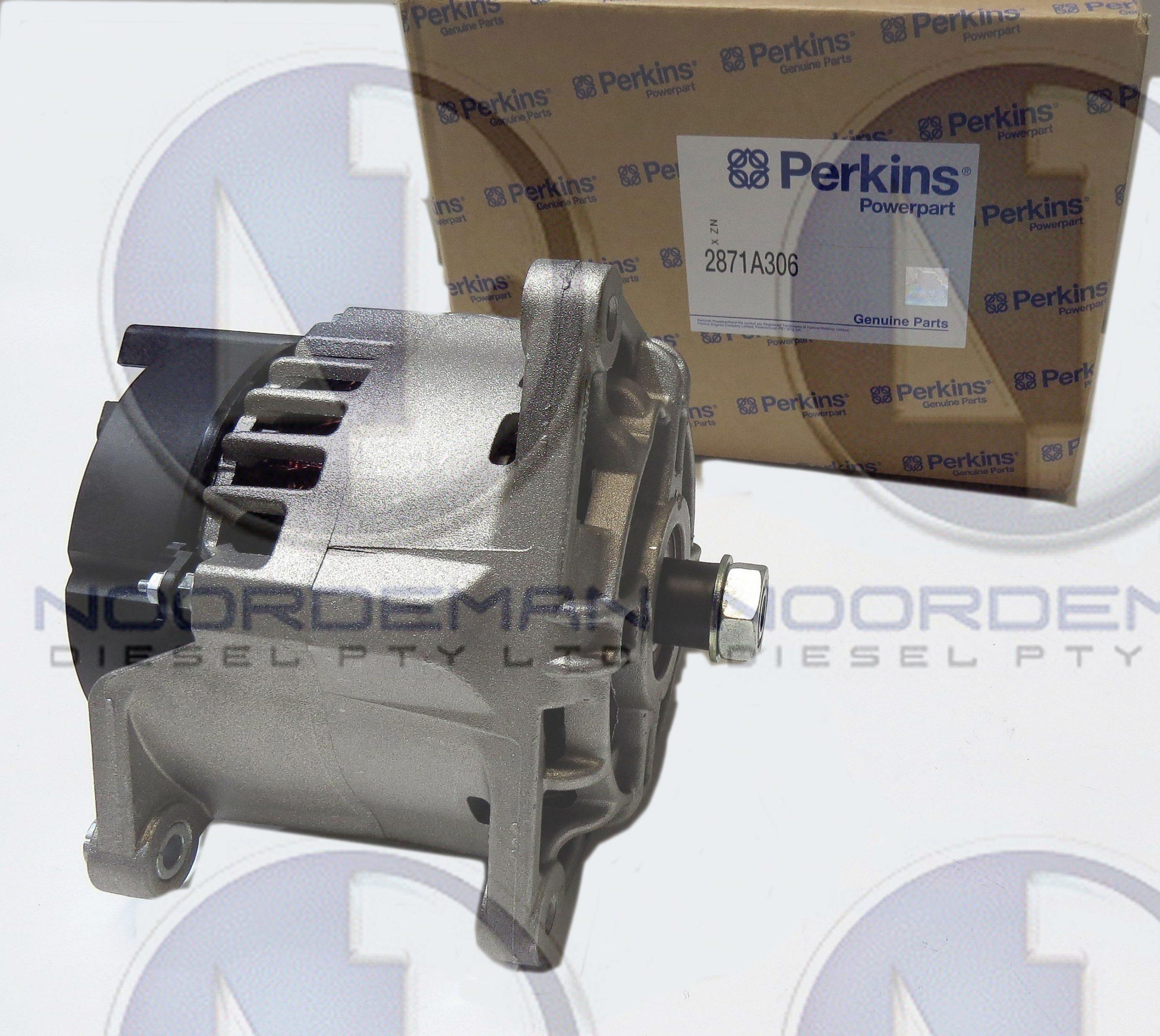 Perkins Alternator 2871A306