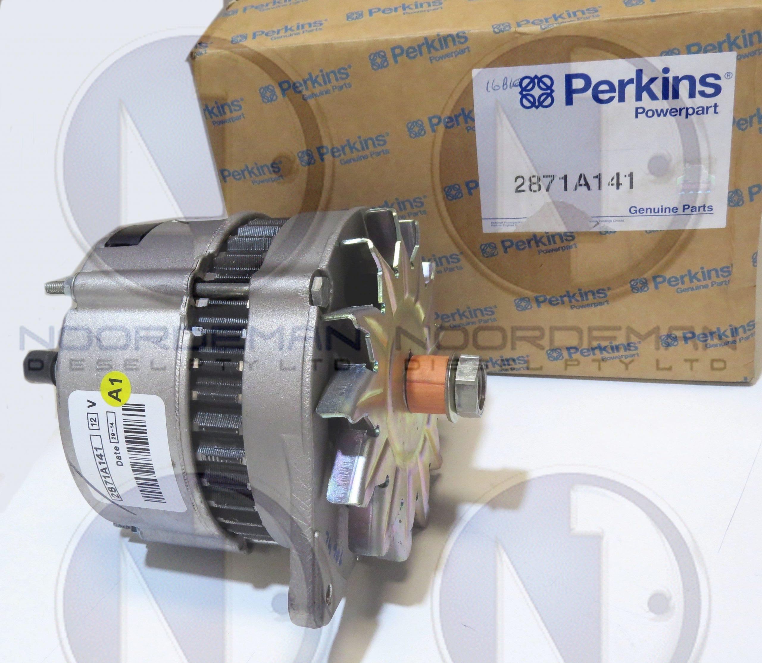 Perkins Alternator 2871A141