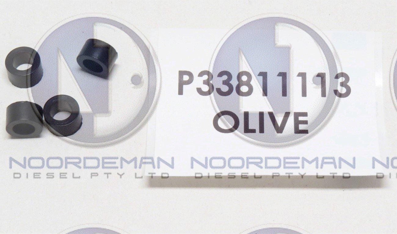33811113 Perkins Fuel Line Grommet Olive