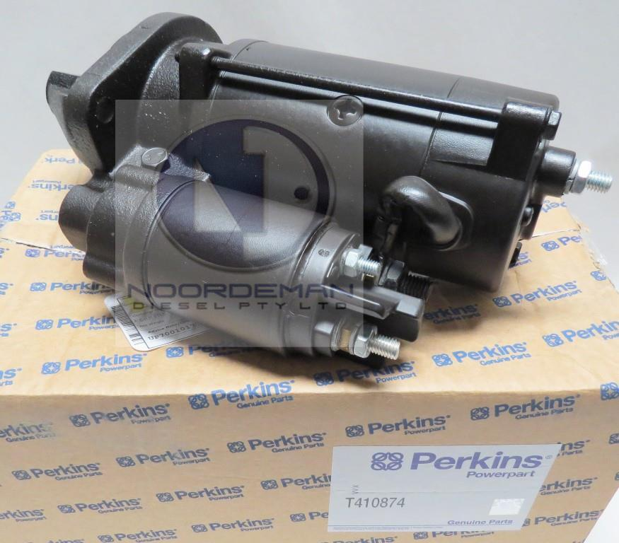 T410874 Perkins Starter Motor