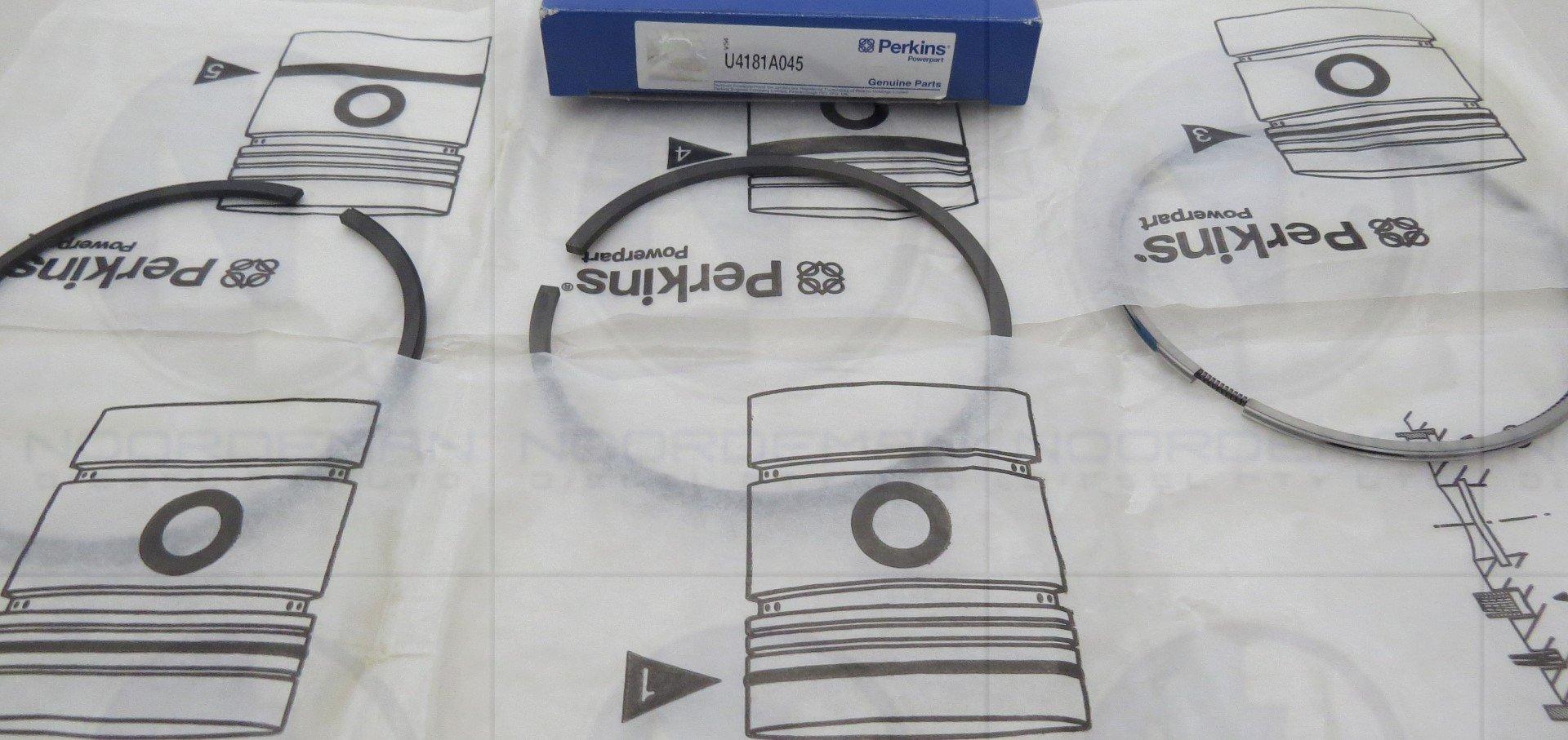 U4181A045 Perkins Ring Set Kit