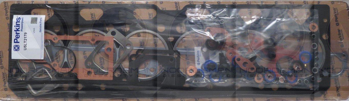 U5LT2179 Perkins 6 cylinder Top Gasket Set