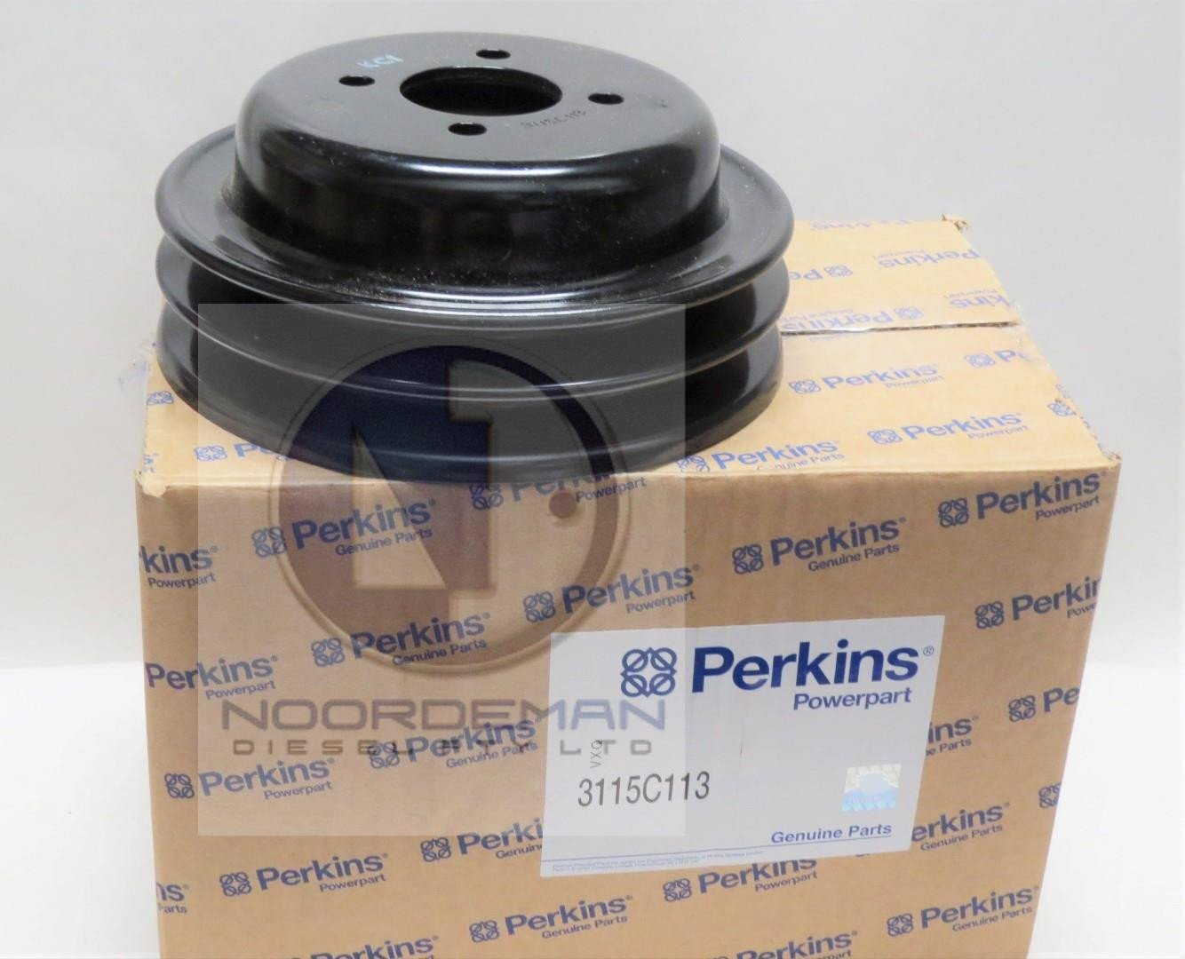 3115C113 Perkins Water Pump Pulley