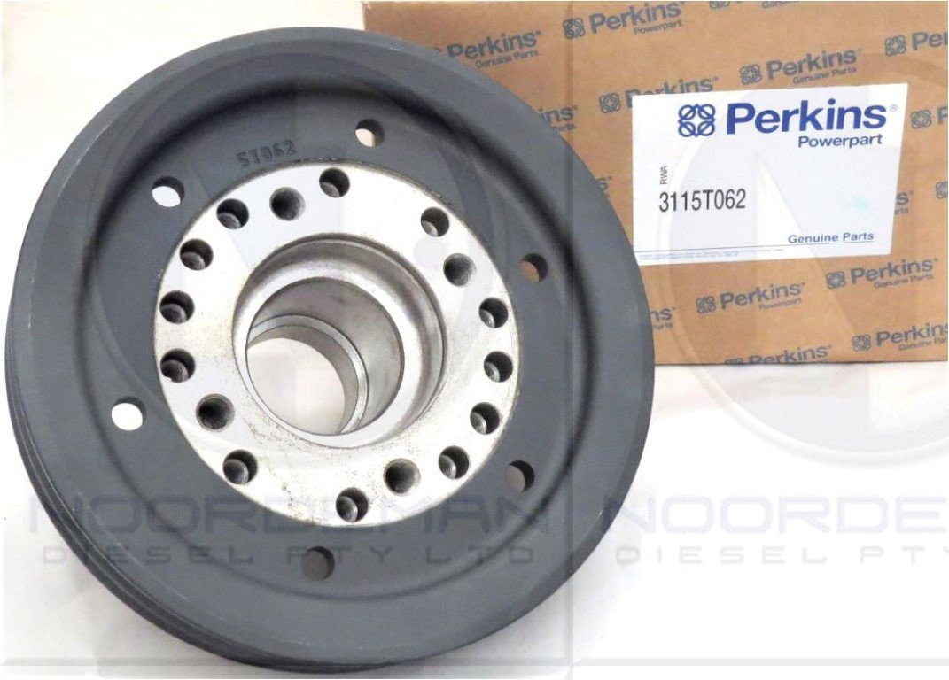 3115T062  Perkins Front Crank Pulley 1000 Series